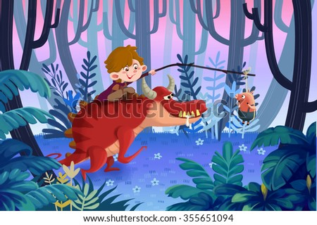 Stock Photo Illustration for Children: Sorry little Piggy, Please Hang on a Little more Moments, We are almost There Soon. Realistic Fantastic Cartoon Style Artwork Scene, Wallpaper, Story Background, Card Design