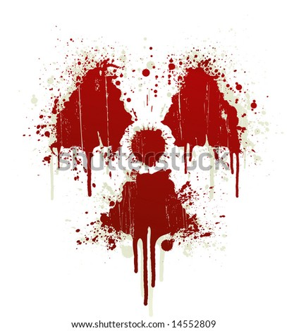 blood splatter. of a lood splatter design