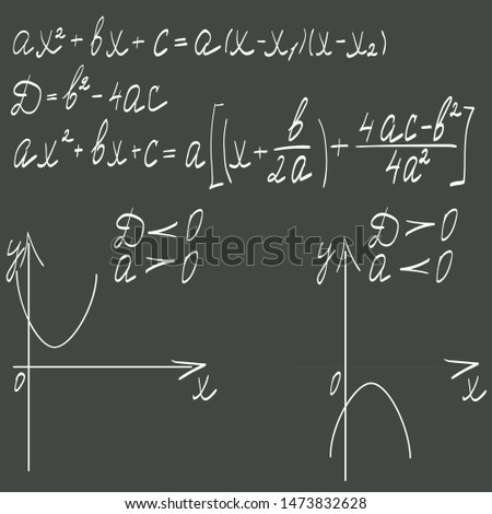 Illustration of a mathematical formula on a dark background