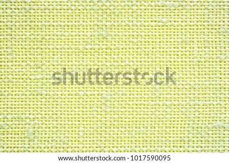 illustration of abstract texture of fabric or textile material of light green or yellow color for a background or for desktop wallpaper #1017590095