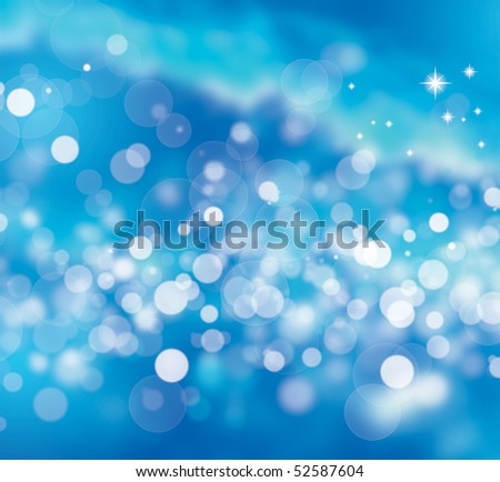 Illustration of abstract underwater bubbles