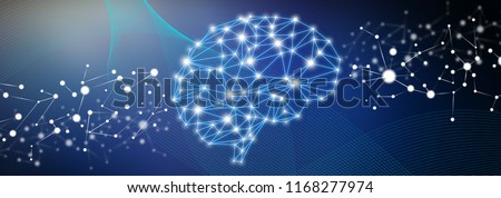 Illustration of an artificial intelligence concept