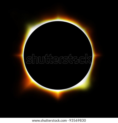 illustration of an eclipse