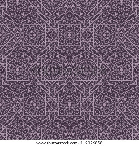 Illustration of arabic geometric background