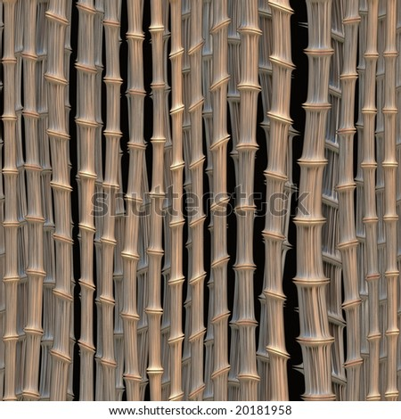 illustration of bamboo art - seamless tiling