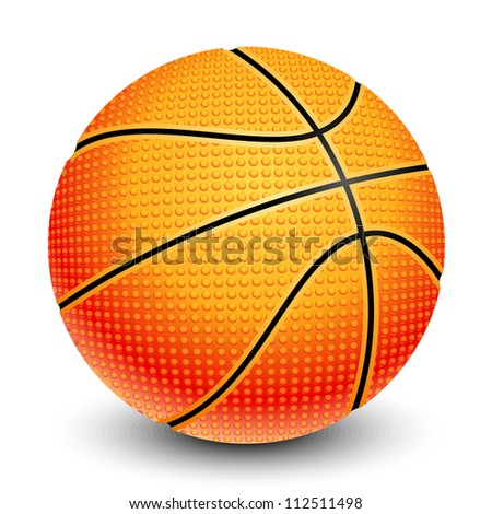 illustration of basketball