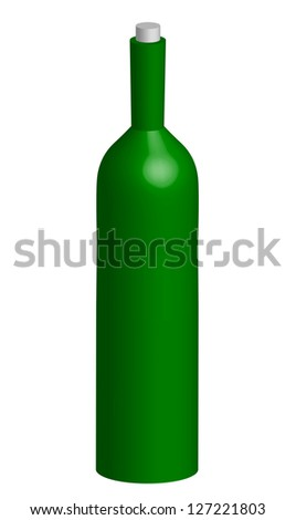Illustration of bottle