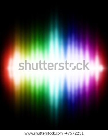 Illustration of Color light effect. Beautiful background.