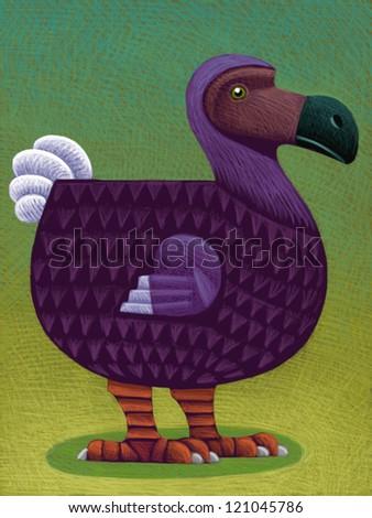 illustration of Dodo