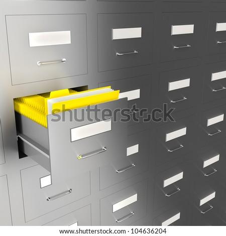illustration of information search metaphor