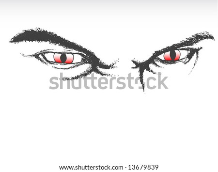 Scary Eyes Clip Art http://www.shutterstock.com/pic-13679839/stock-photo-illustration-of-scary-eyes.html