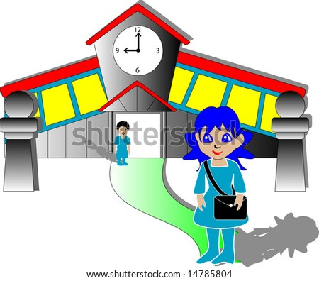 clip art school building. clip art school building. of