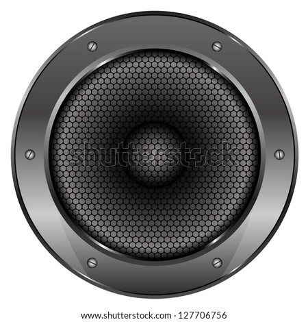 Illustration of Sound Speaker