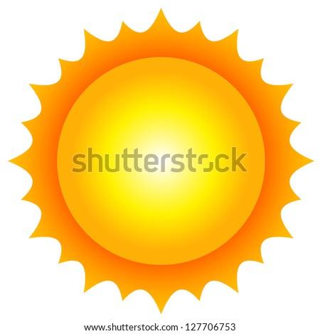 Illustration of sun