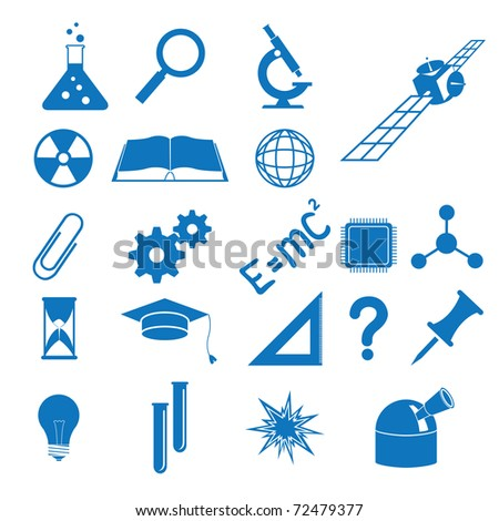 Illustration all science subjects
