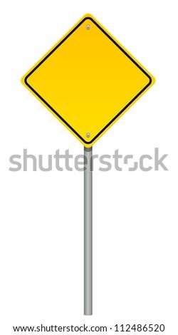Illustration of warning sign