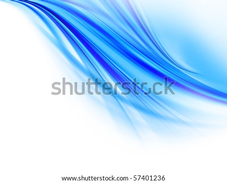 Illustration of water abstract design
