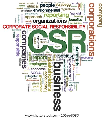 the importance of corporate social responsibility csr and e harmony The establishment of grand strategy that is truly able to embed csr with the corporate  propose the corporate social responsibility  csr programs in harmony.