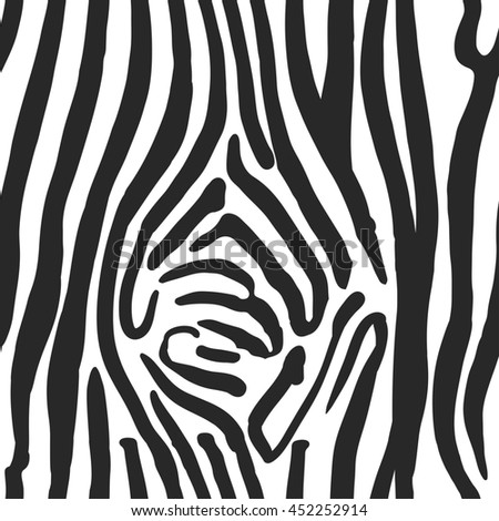 illustration of zebra print seamless pattern wild texture for
