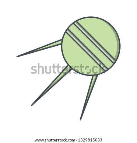 Illustration Sputnik Icon