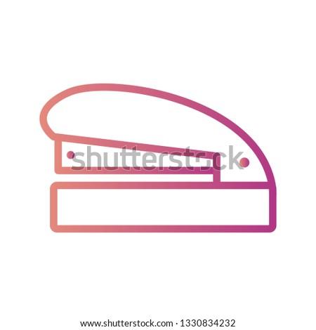 Illustration Stapler  Icon