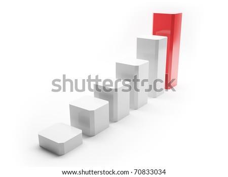 Illustration symbolizing growth and development of business