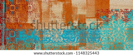 Illustration texture abstract pattern  background For Tiles Or wallpaper