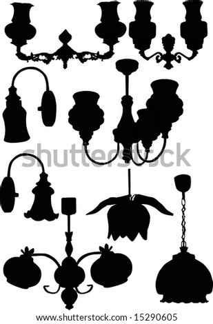 Italian+chandelier+illustration