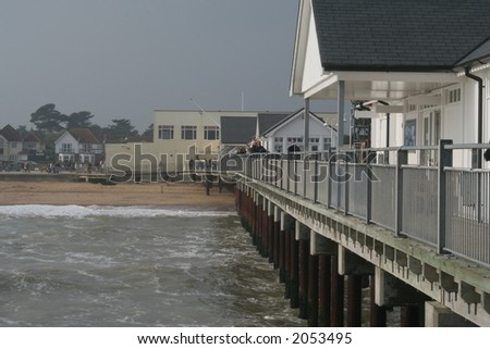 Image from Southwold beach in Suffolk England