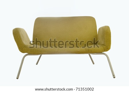 Image of a chair on white