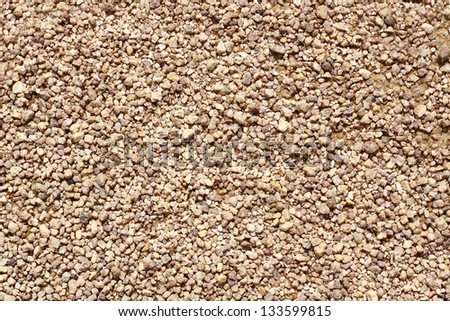 Image of a lot of small gravel scattering