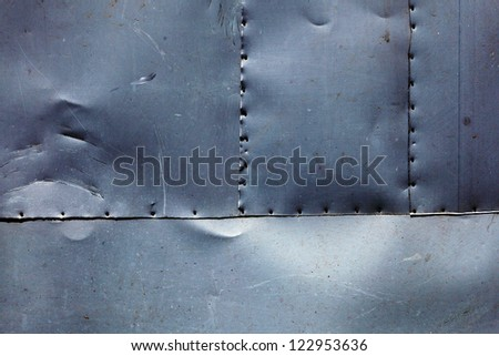 Image of a painted metal wall texture surface