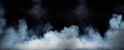 Image of a swirling dense smoke