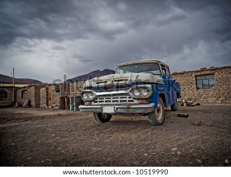 image of a vintage car
