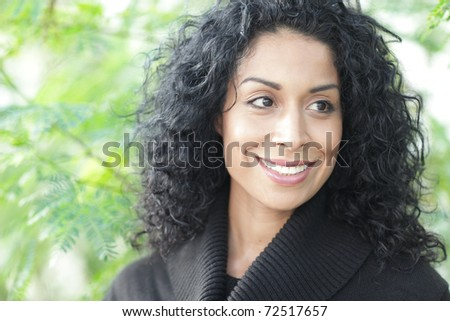 Image of a woman smiling