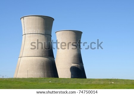 Image of abandoned nuclear power plant