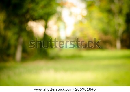 Image of abstract nature blur background - Shutterstock ID 285981845