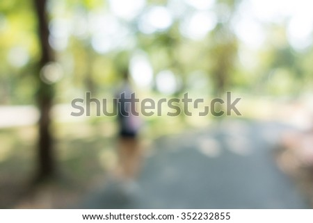 image of blurred park, natural background #352232855