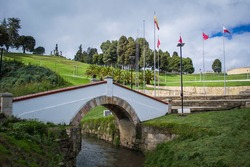 image of boyaca bridge over the river