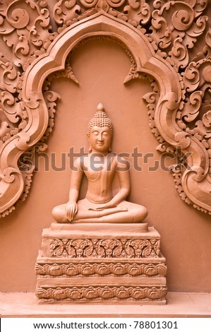 image of buddha statue in Thai temple