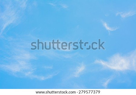 image of clear sky on day time for background usage #279577379