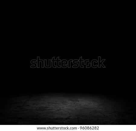 Image of dark concrete floor - Shutterstock ID 96086282