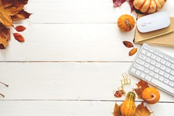 image of desktop ,autumn theme