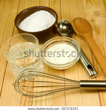 image of different ingredients for cooking on the table