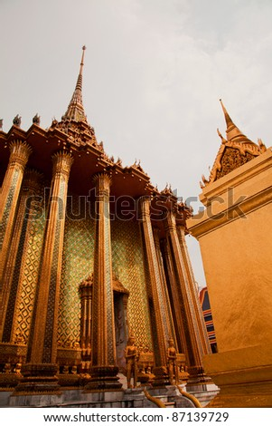 Image of Emerald Buddha Temple in Thailand