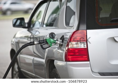 Image of gas refilling