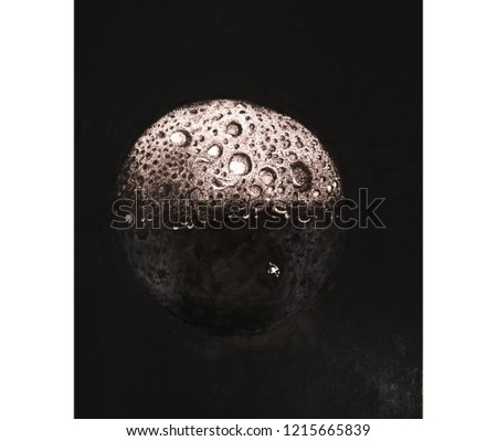 Image of moon re-created
