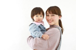 Image of nursery teacher and child