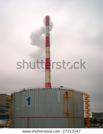Image of power plant  in Lithuania