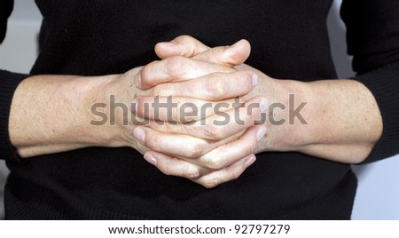 Image of praying hands